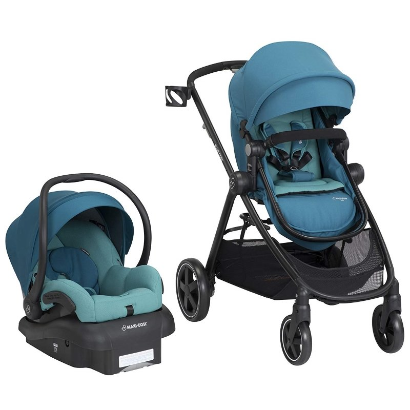 The Maxi-Cosi Zelia 5-in-1 Stroller & Infant Car Seat Set ...